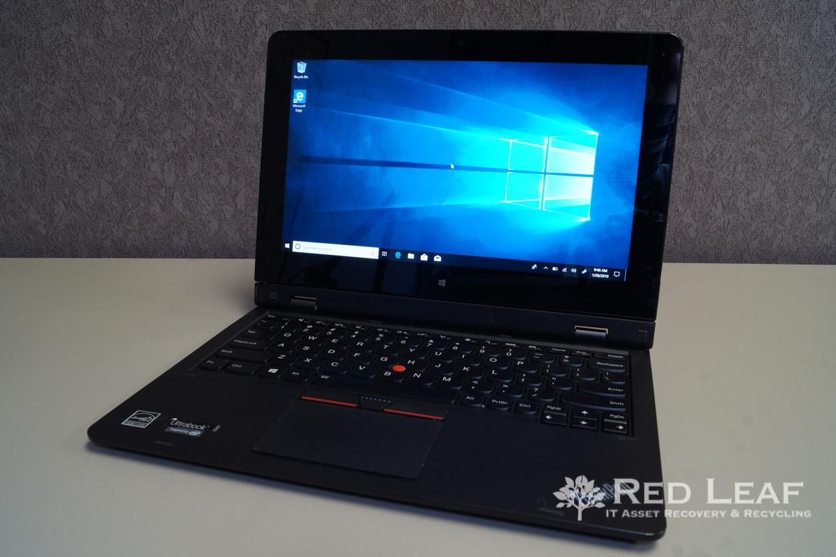 Lenovo ThinkPad Helix Type 20CG Intel Core M-5Y71 @1 2 GHz 4GB Ram 128GB  SSD Windows 10 Pro Refurbished