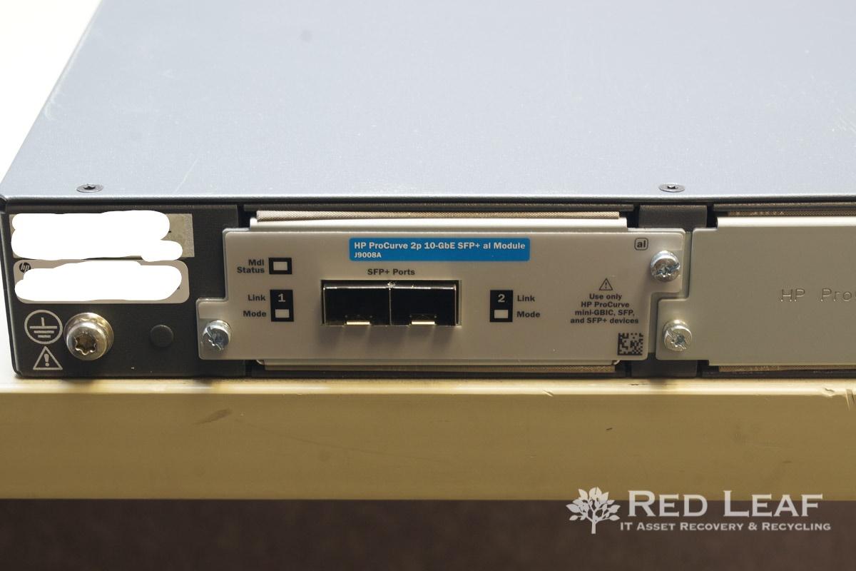 HP ProCurve 2910al-48G-PoE+ J9148A 48-Port Ethernet Switch w/ J9008A Module  (Refurbished)