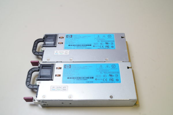 Lot of 2 HP HSTNS-PL14 DL380 G7 POWER SUPPLY 499250-201 460W 511777-001