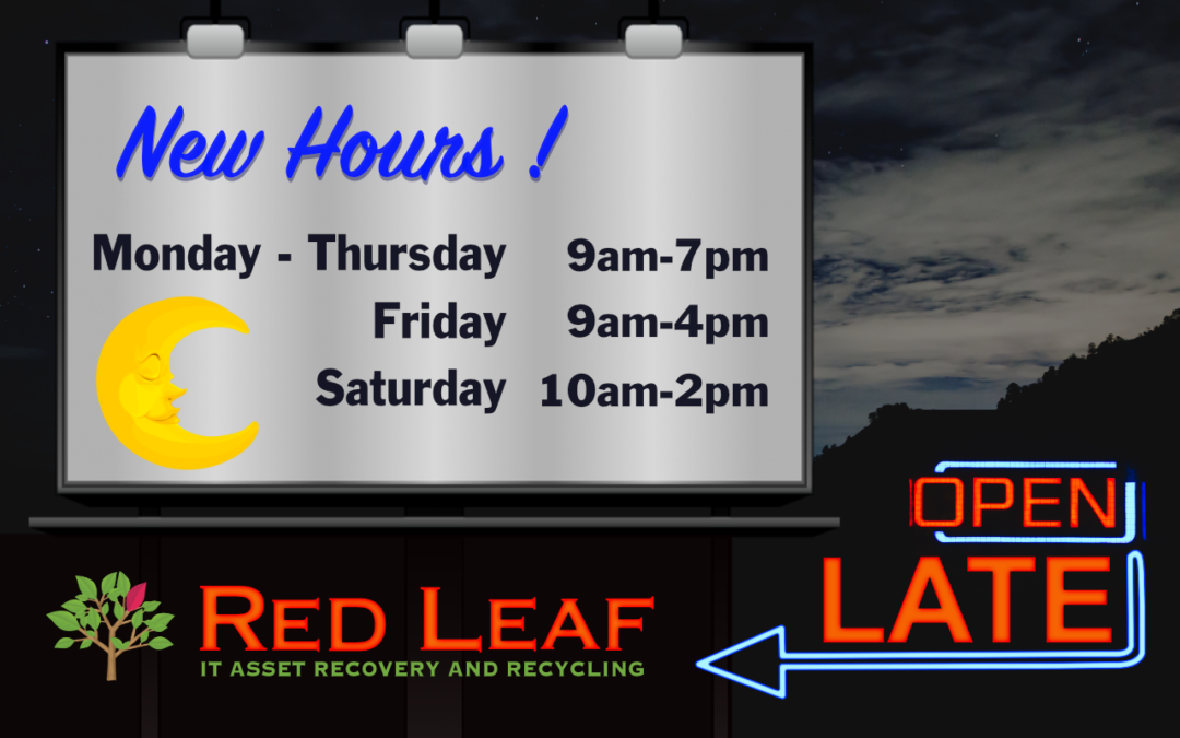 New later and weekend hours!