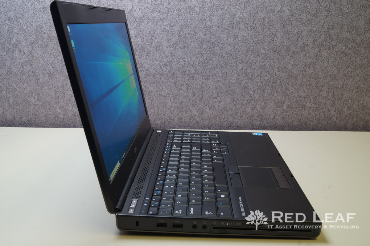 Dell Precision M4800 Intel Core i7-4800MQ @2 7GHz Quad Core 16GB RAM 1TB  SSD NVIDIA Quadro K2100M 2GB QHD+ Windows 10 Pro Refurbished